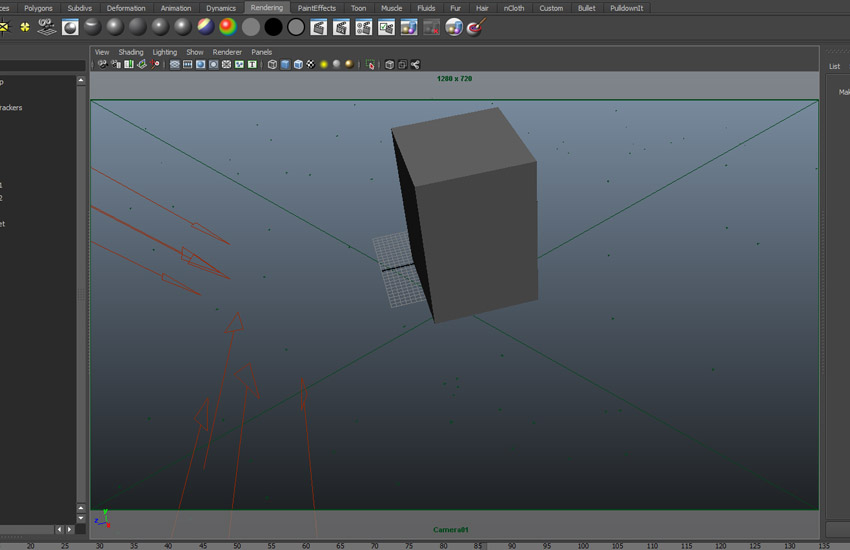 Create a polygon cube