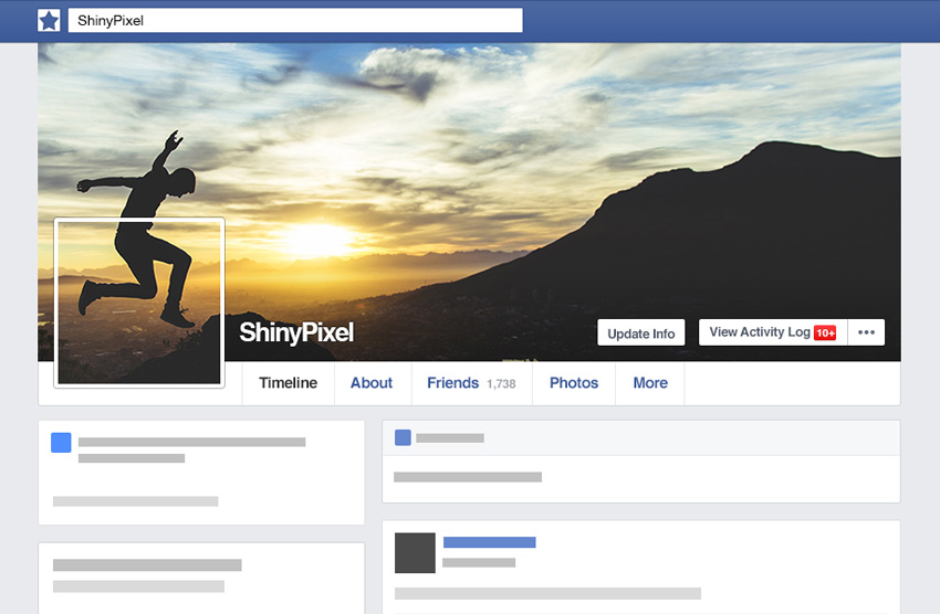 How to Create a Seamless Facebook Cover and Profile Picture in Adobe