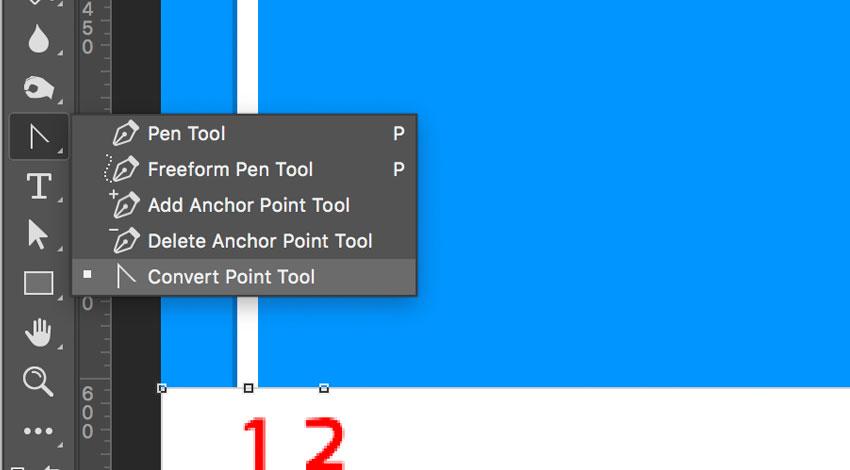 Convert point tool