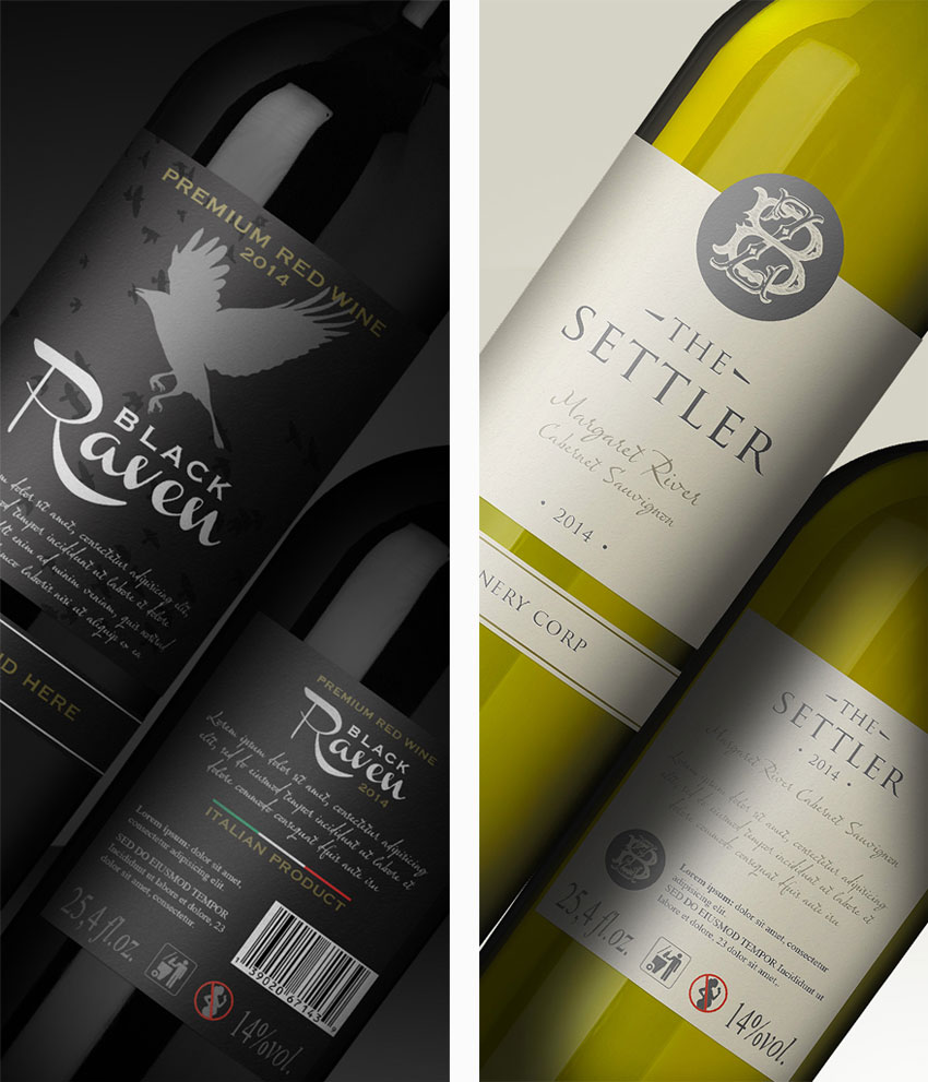 how to create a realistic wine bottle mockup template in adobe photoshop