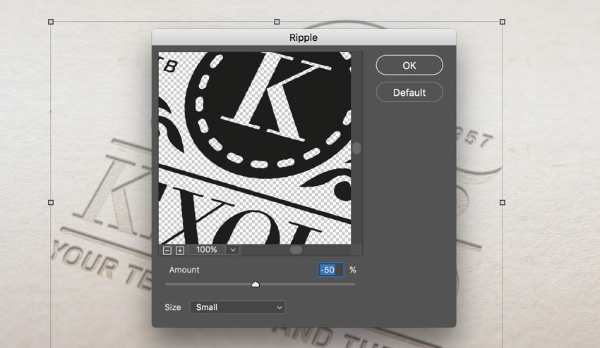 How to Create a Pressed Paper Logo Mockup in Adobe Photoshop