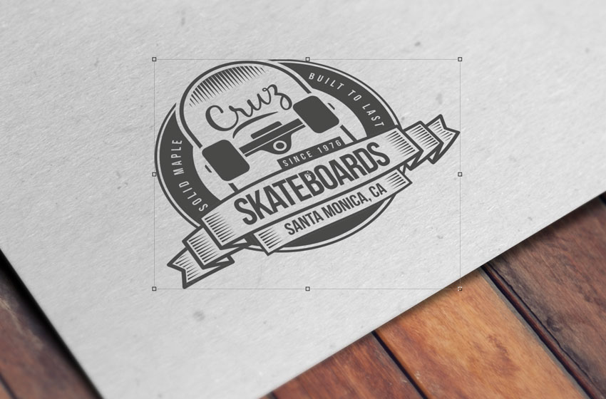 how to create an embossed paper logo mockup in adobe photoshop