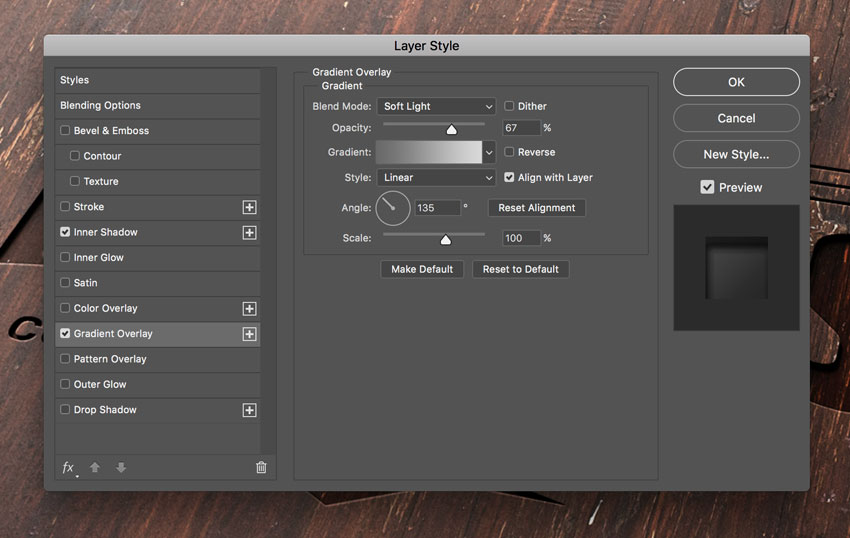 How to Create a Wood Engraved Logo Mockup in Adobe Photoshop