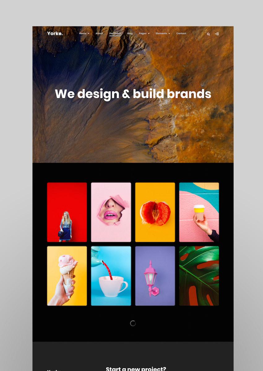 16 Amazing Masonry Grid Style WordPress Portfolio Themes