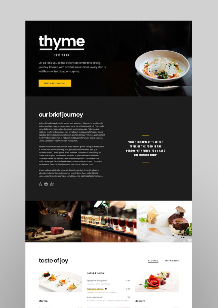 Gastro - Multipurpose Cafe  Restaurant WordPress Theme