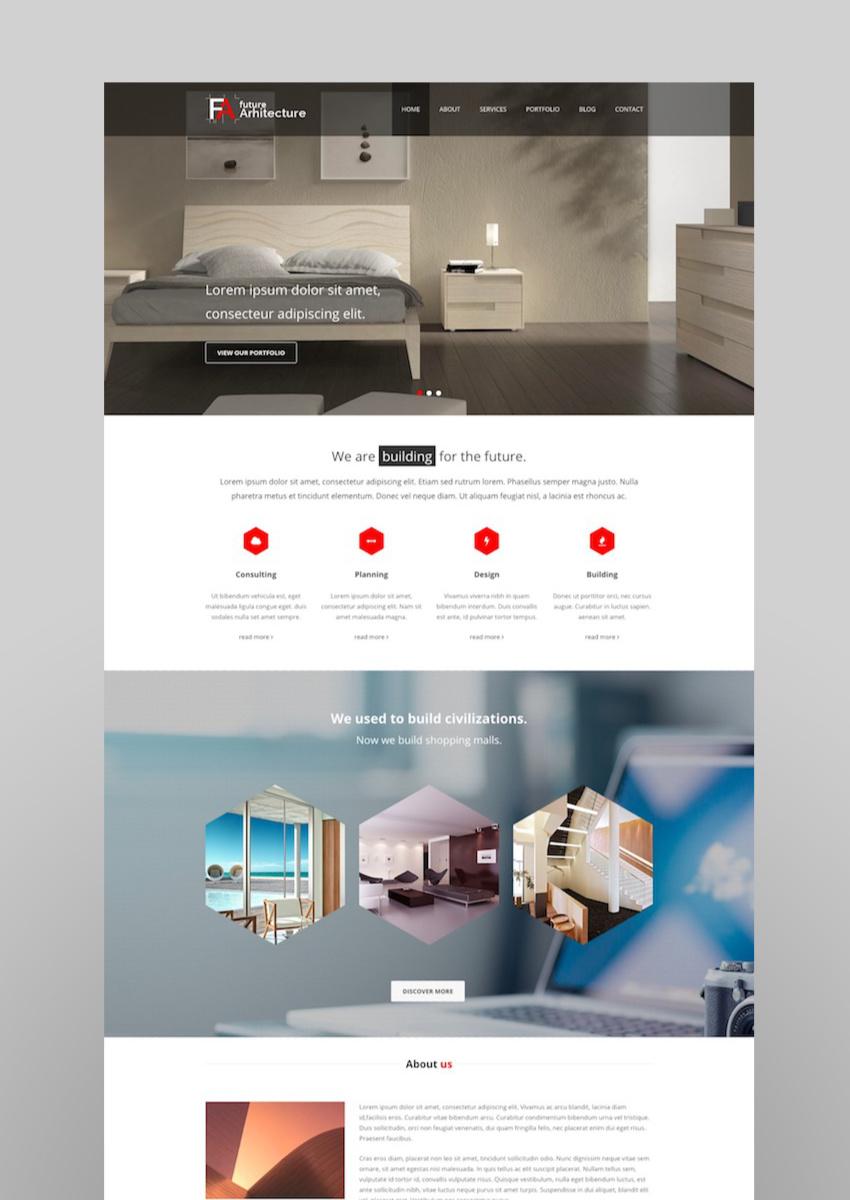 Future Architecture - Responsive WordPress Theme