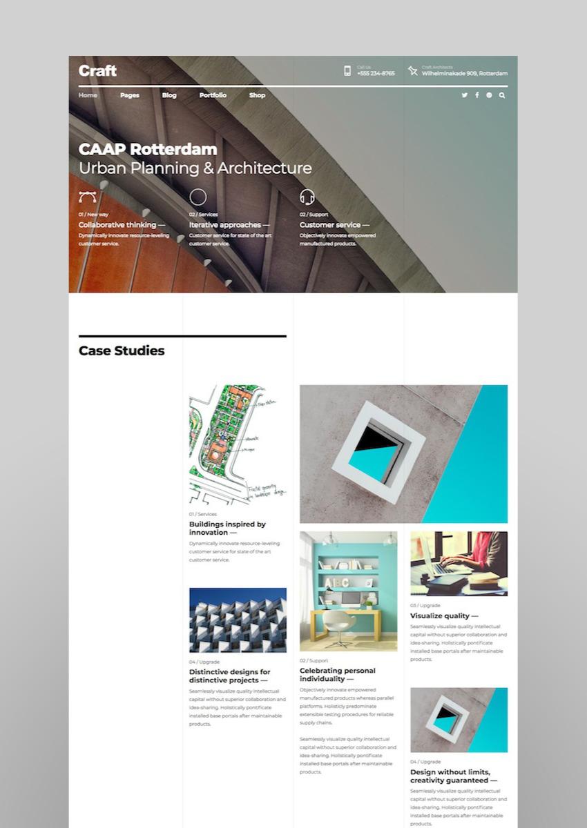 Craft Portfolio - Architecture Design Portfolio