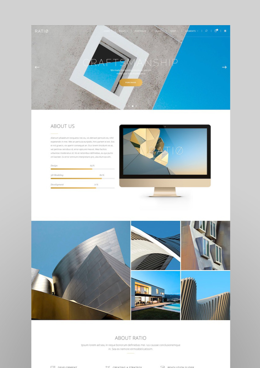 Ratio A Powerful Theme for Architecture Construction and Interior Design