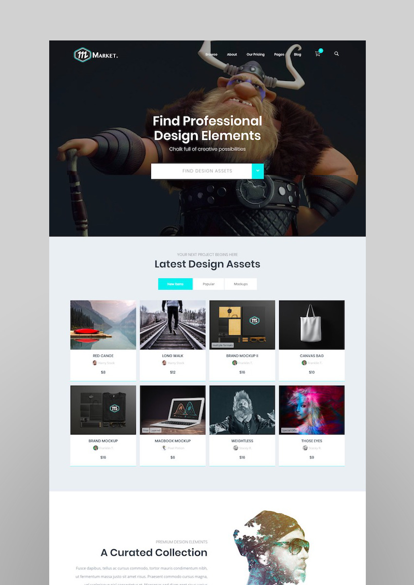 Market - Marketplace WordPress Theme