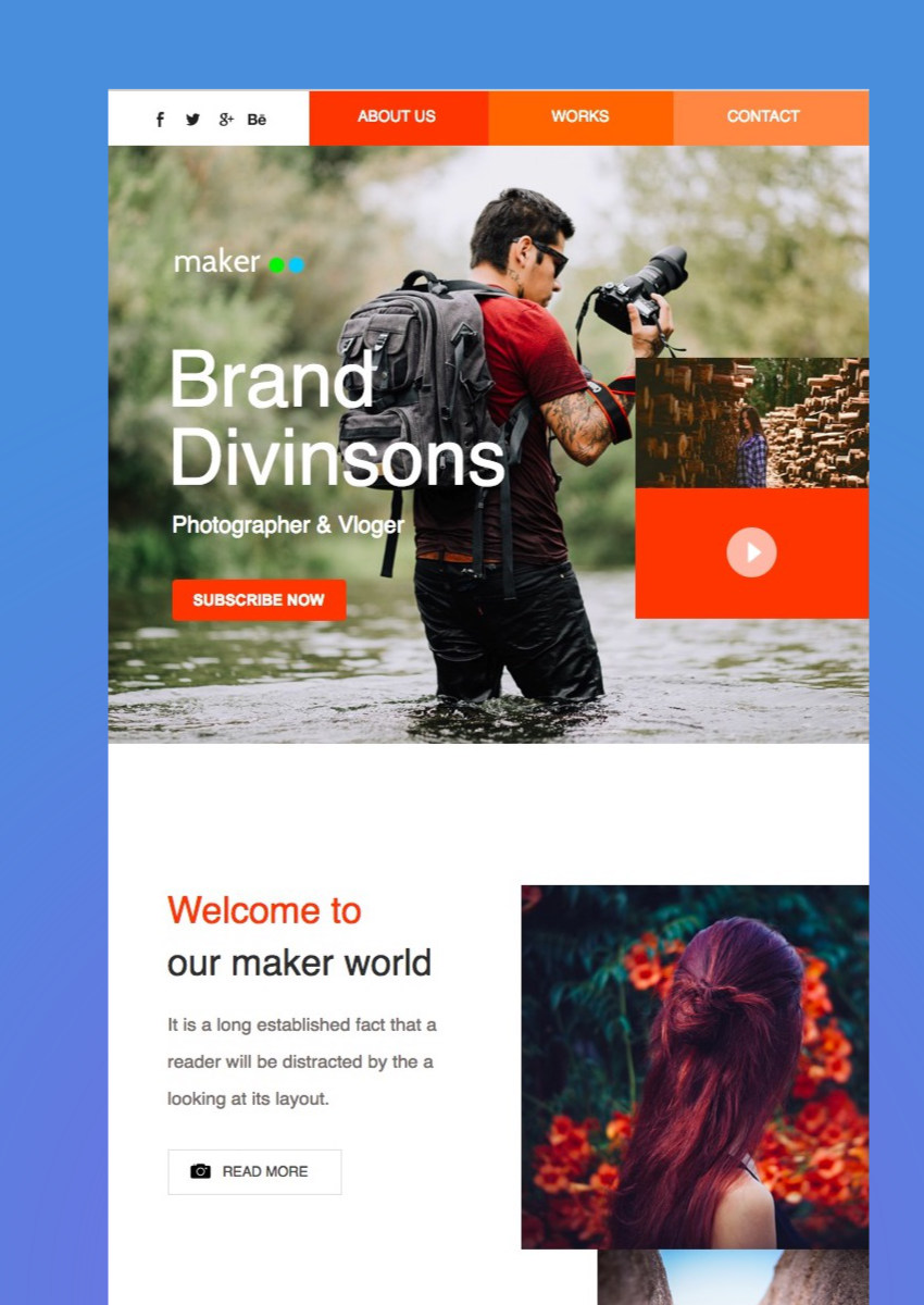 Maker Mail - Responsive E-mail Template
