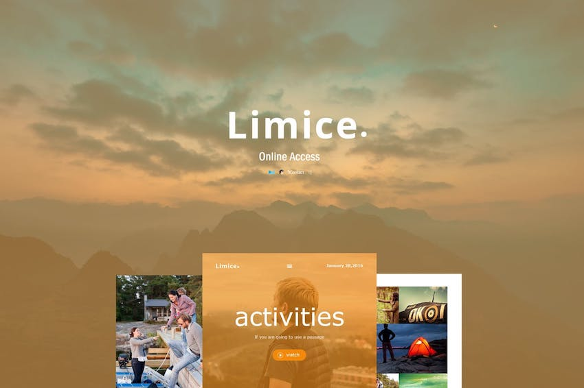 Limice - Responsive E-mail Template