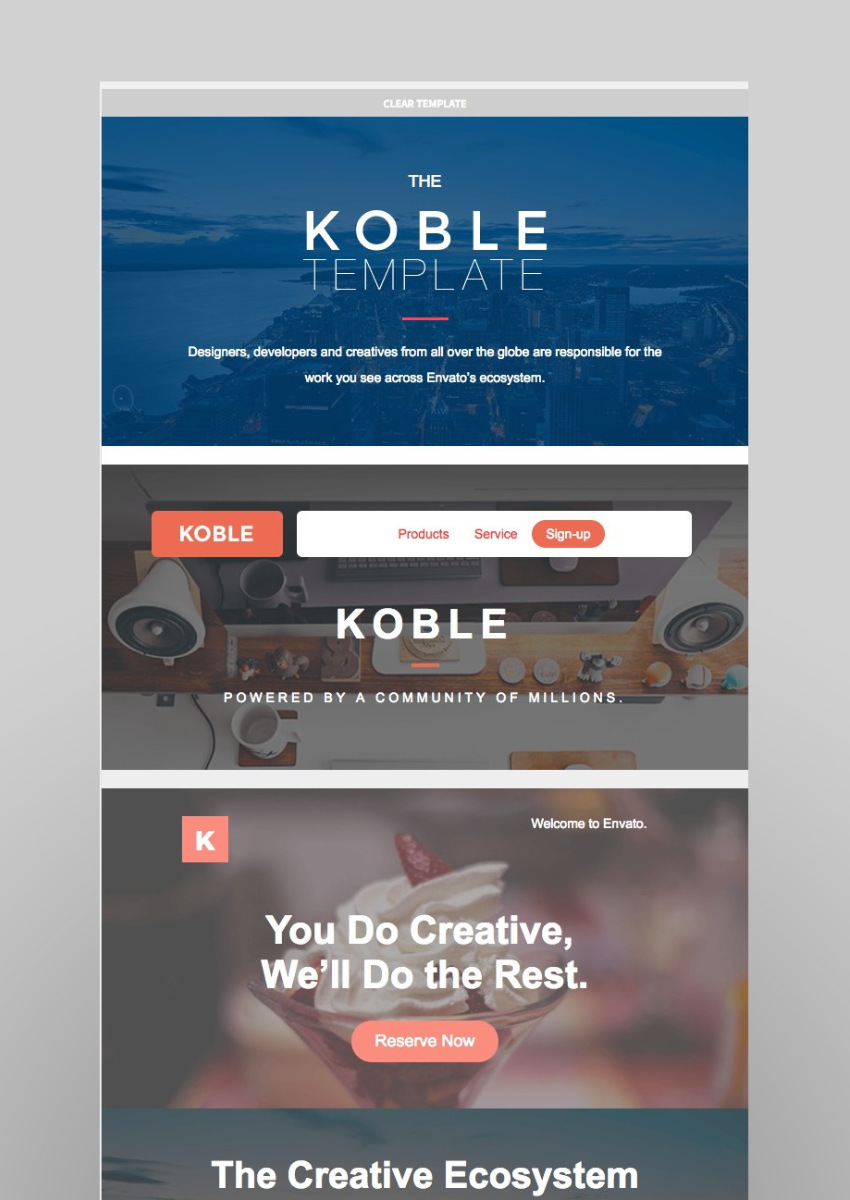 18 Great Campaign Monitor Templates for Email and Newsletters