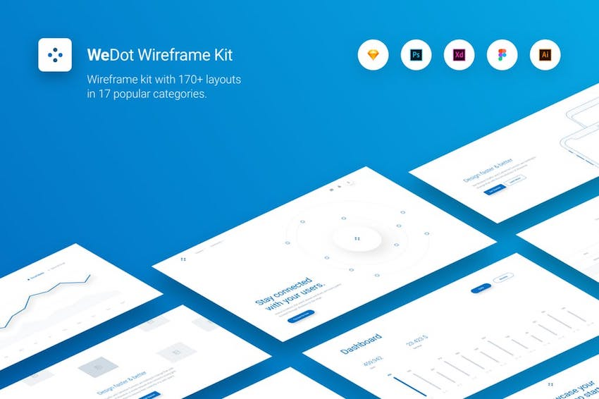 20 Must-Have Wireframe Templates and UI Kits for Your Design Library