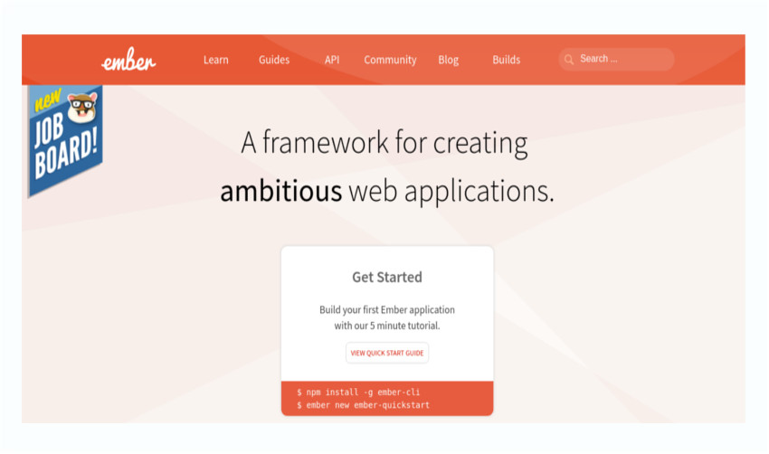Emberjs a framwork for creating ambitious web apps