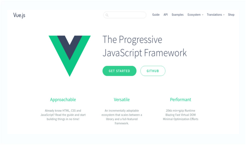 Vuejs The progressive JavaScript framework