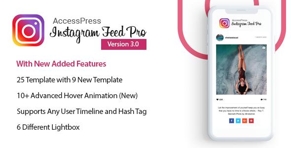 AccessPress Instagram Feed Pro