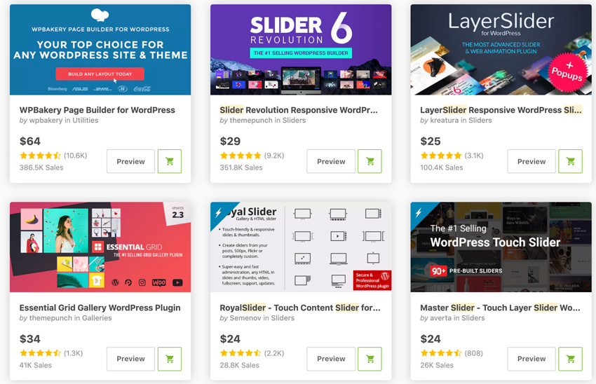 Best Selling Carousel  Slider WordPress Plugins On CodeCanyon