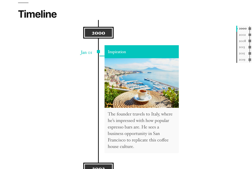 How To Create a Company Timeline With a WordPress Plugin