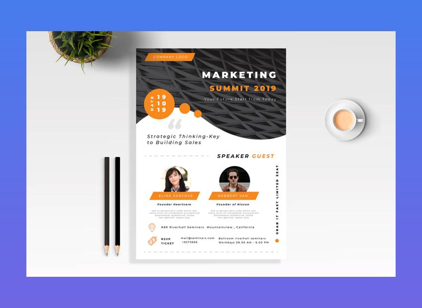 Marketing Seminar Flyer