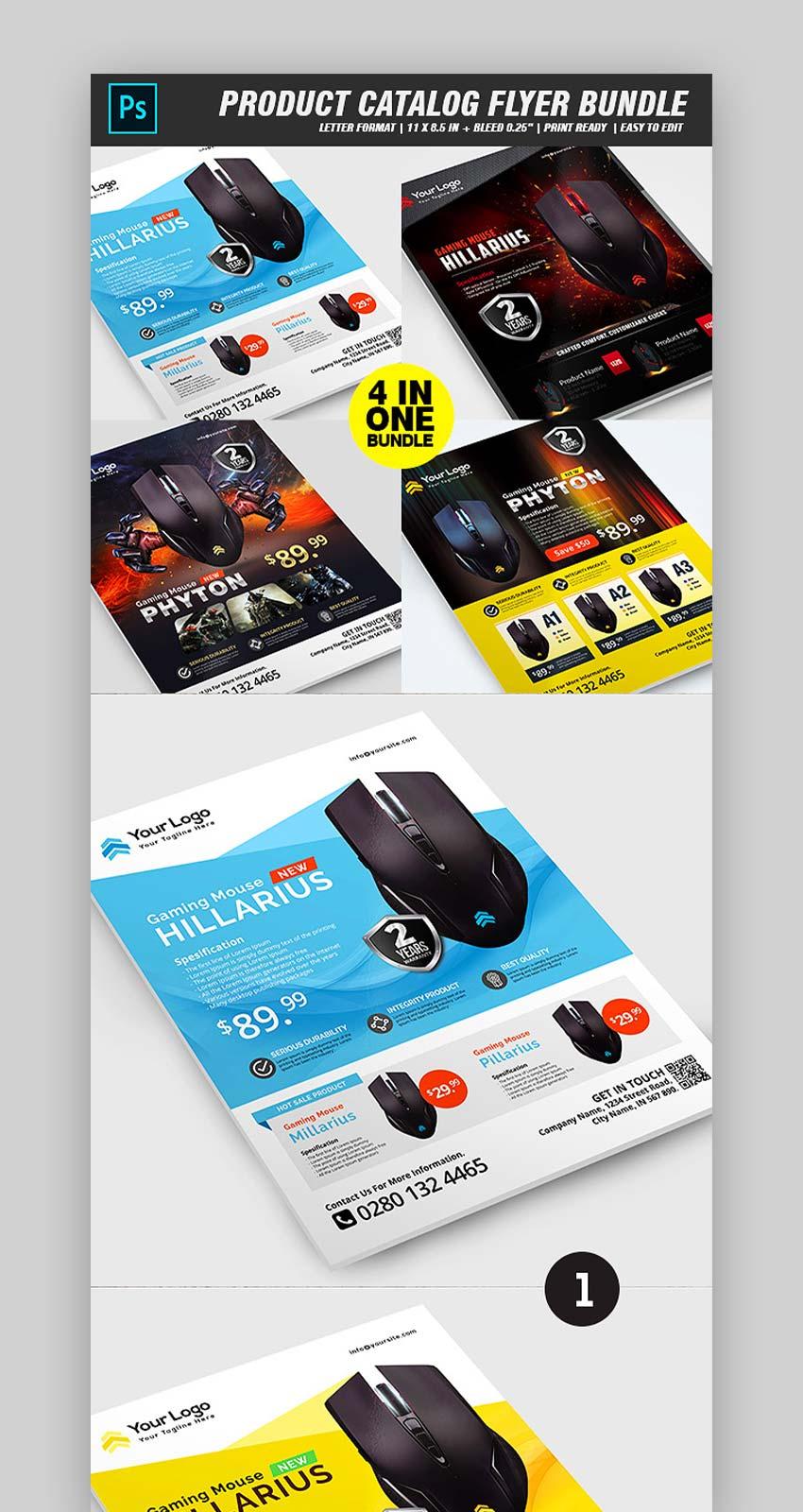 Product Sale Flyer Bundle