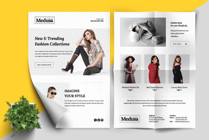 MEDUSA Fashion Flyer From Envato Elements