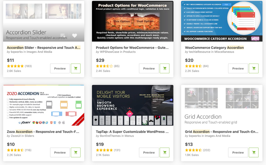 Best-Selling WordPress Tab  Accordion Widgets  Plugins
