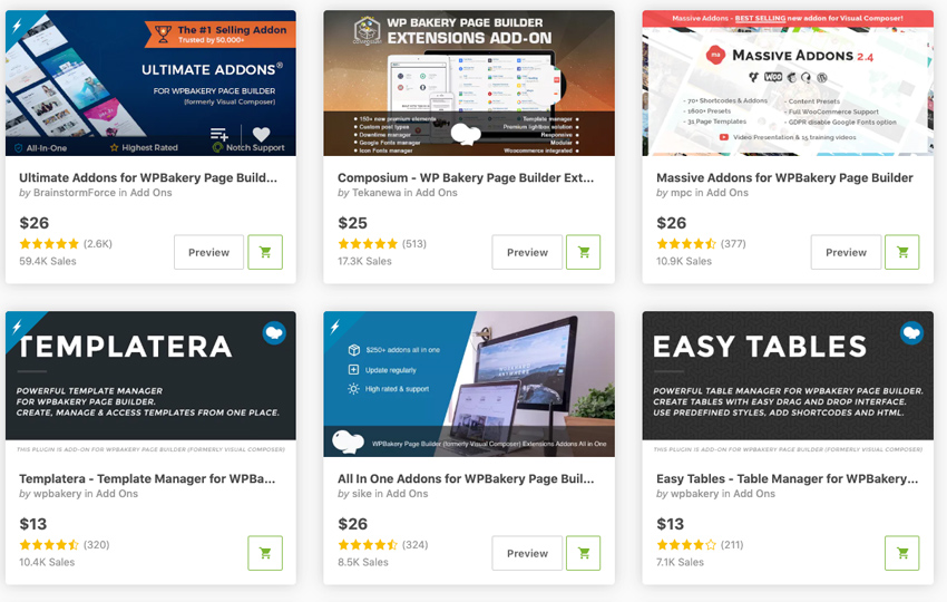 Best-Selling WordPress WPBakery Page Builder Addons  Plugins on CodeCanyon