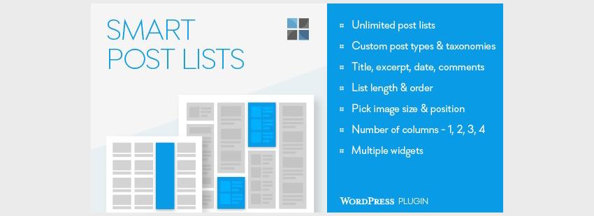 Smart Post Lists Widget