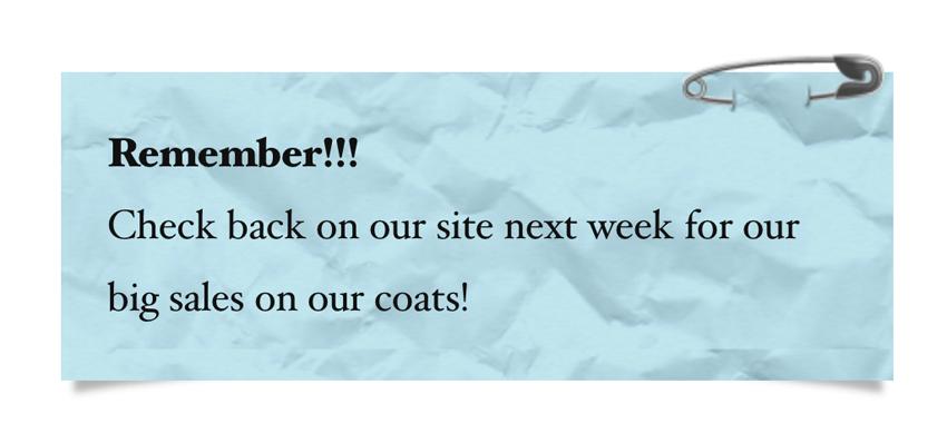 Fancy Text Widget For eCommerce Website