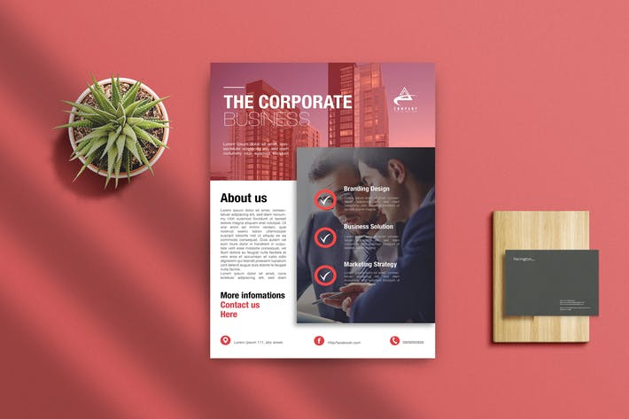 25+ Best Free Business Flyer Template Designs (Printable Examples
