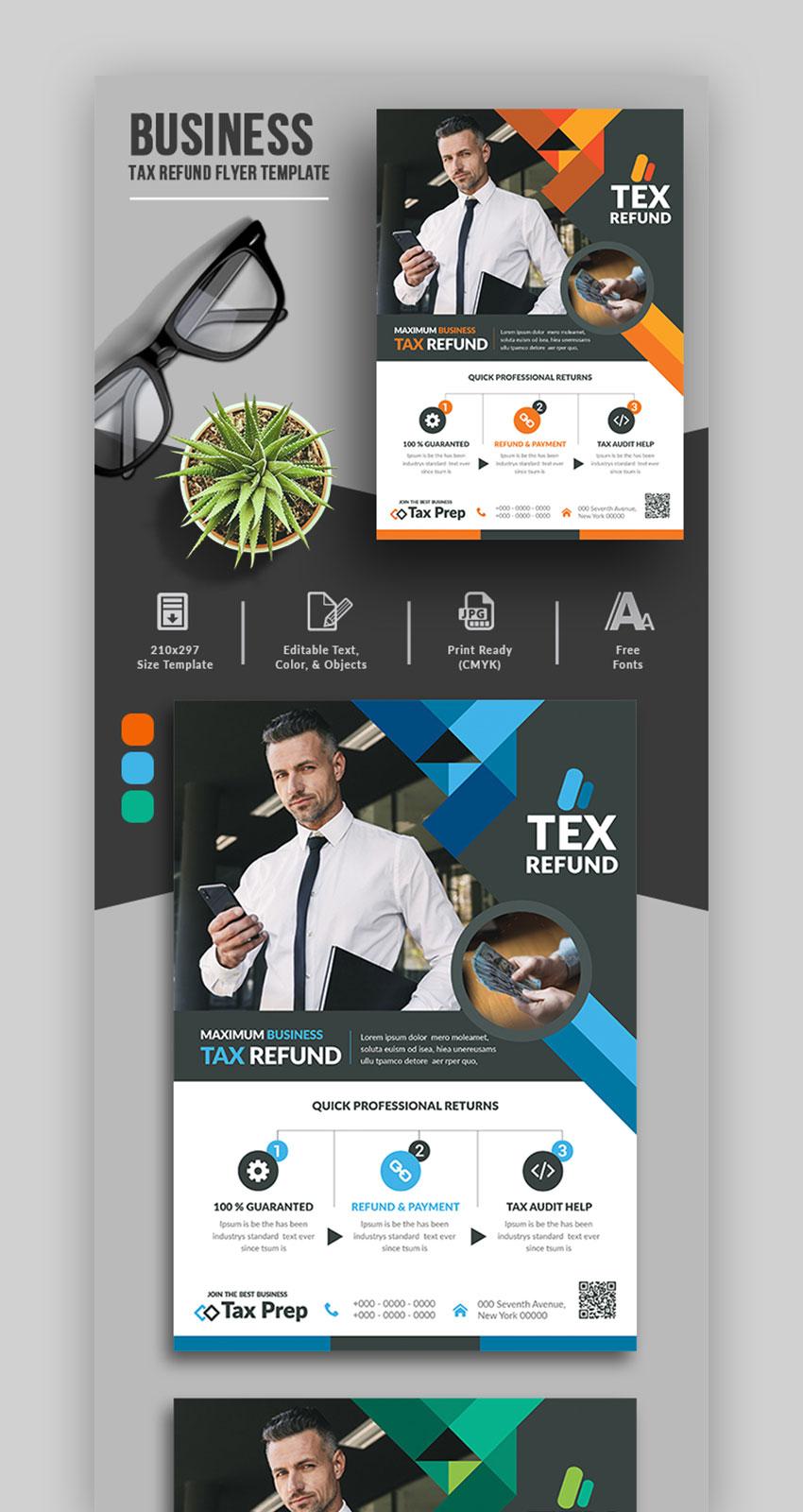 Business Tax Refund Flyer