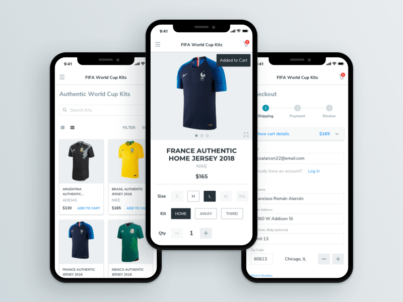 E-Commerce UI Kit Sketch Resource
