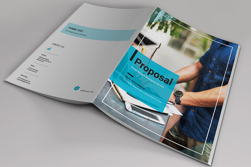 Free Download Business Proposal Template