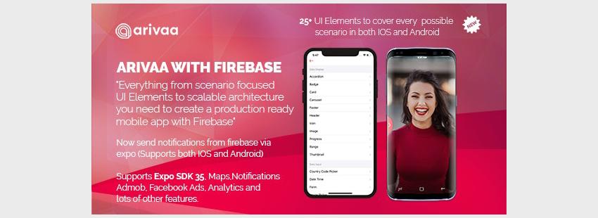 Arivaa Built with Firebase