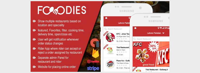 Restaurant Food Delivery  Ordering System