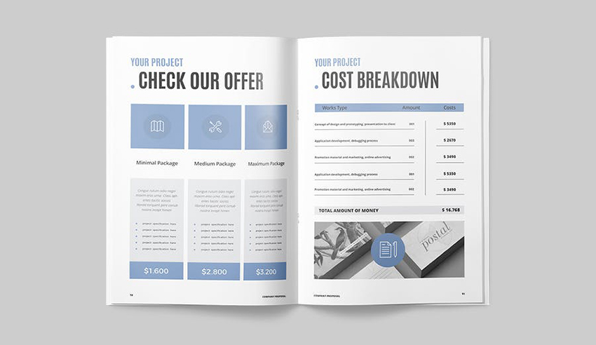Proposal - Columned Pages