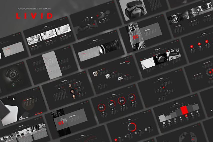 23 Free Dark Powerpoint Background Templates For 2021 Ppt