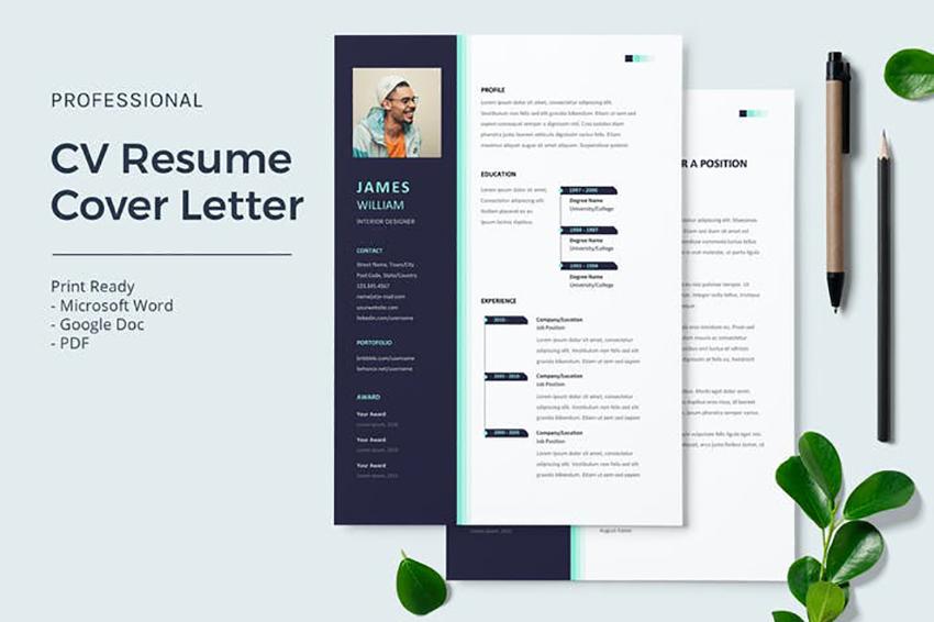 CV Resume Cover Letter