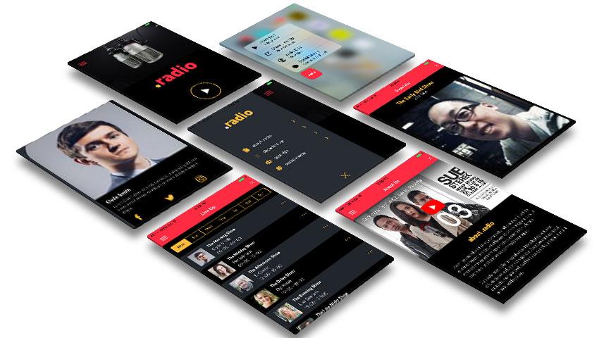 An Ionic radio app