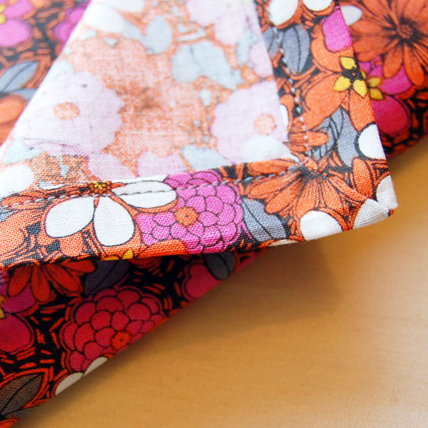 Sewing mitered corners finished product image 2