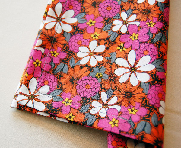 Sewing mitered corners finished product image