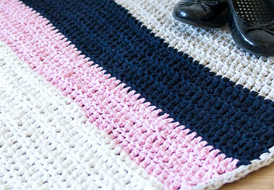 Wink stripey rug preview