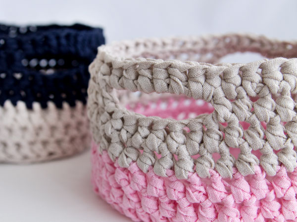 How To Make A Crochet Basket