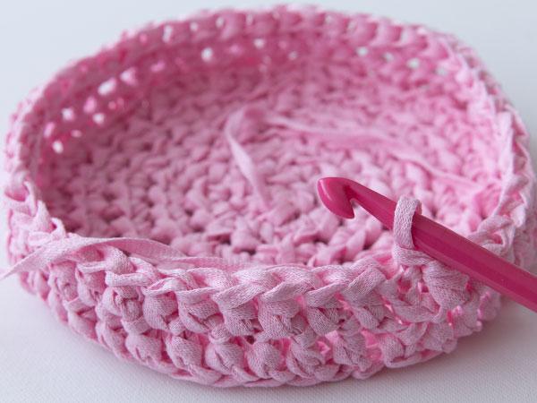 How To Make A Crochet Basket