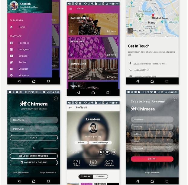 10 Stunning Ionic App Templates