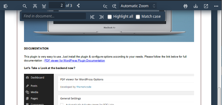 How to Embed and Protect PDF Files With a WordPress Plugin