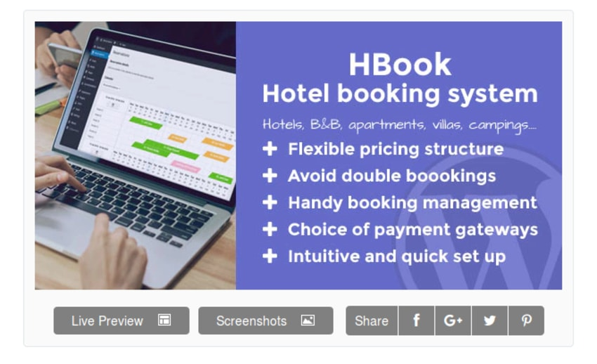 HBook Hotel Booking System