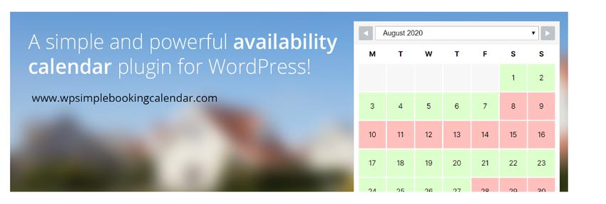 wp-booking calendar