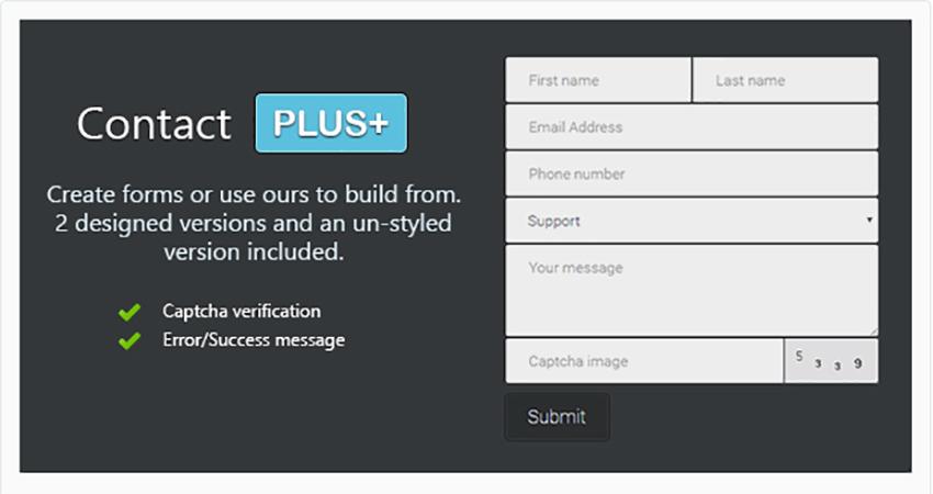 ConcatPlus PHP Contact Form