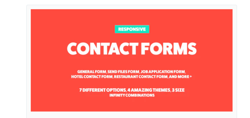 ContactMe Responsive Contact Form
